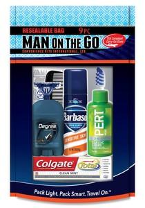 Men's 9 pc Travel Kit