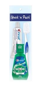 Unisex Oral Hygiene Kit 4 pc