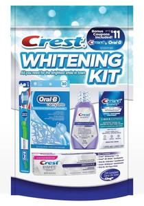Crest Whitening Kit