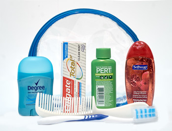 Unisex 7 PC Hygiene Kit