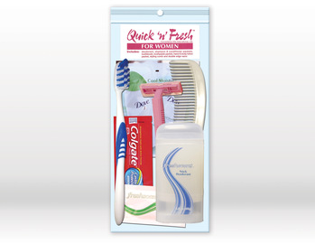 Quick N Fresh Women's Hygiene Kit 8 pc.