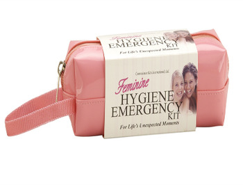 Women's Deluxe Feminine Hygiene Emergency Kit