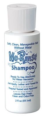 No Rinse Shampoo 2 oz.