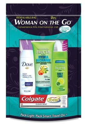 Women's 9 pc Travel Kit
